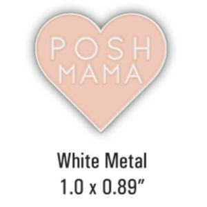"Accessories - COMING SOON Posh Mama Lapel Pin Custom 1.0"" x .89"""